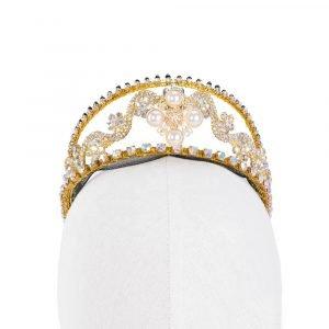 Gold Ballet Tiara