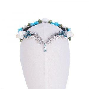 Blue Ballet Headpiece