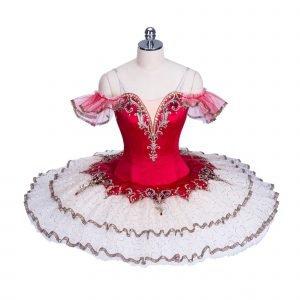 Bright Red Ballet Tutu