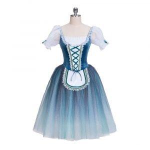 Cobalt Romantic Ballet Costume